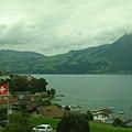 沿途所見瑞士的風景超漂亮