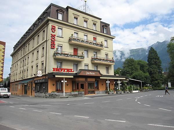 今晚要住的旅館,Du Nord