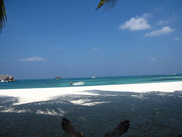 Day7 早上 沙灘邊躺椅