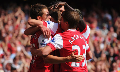 Ramsey復出後第一顆進球