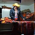 攤販賣著橘色東東