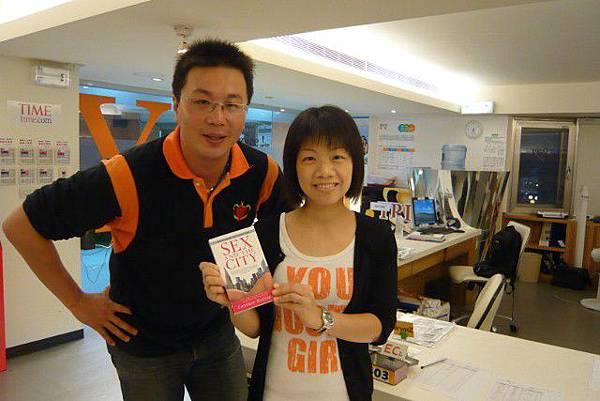 恭喜周宜伶同學獲得熱門電影小書一本