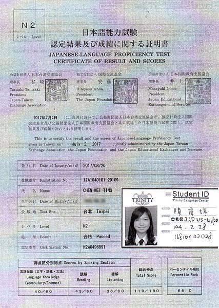 陳偉婷 日檢 N2 證書.jpg