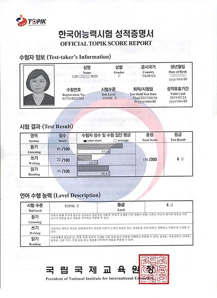 林曉薇 韓檢4級證書.jpg