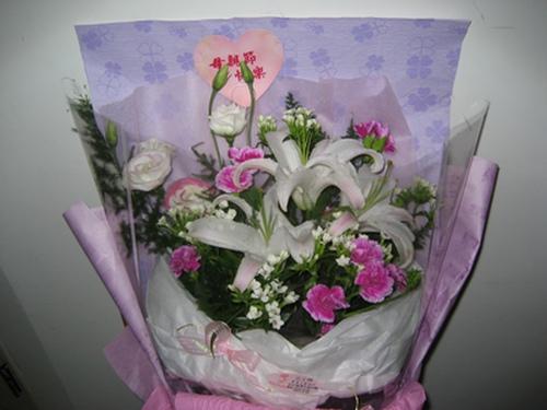 我送媽的花