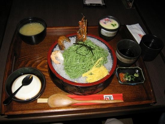 龍蝦蕎麥麵定食