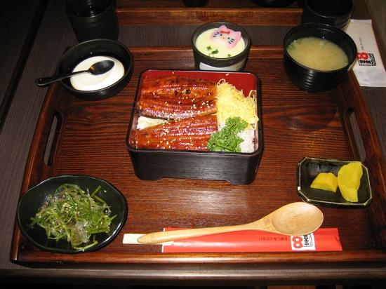 和風蒲燒鰻魚定食