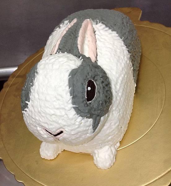 卡通-兔-灰兔-1