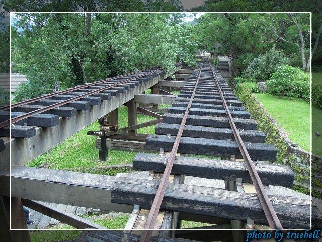 修復過的運材鐵道