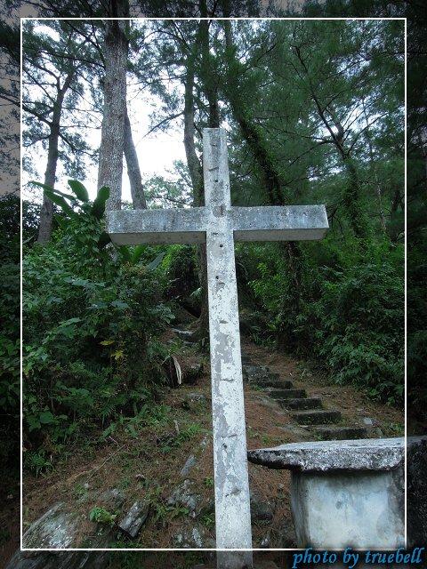 第一瞭望台的十字架