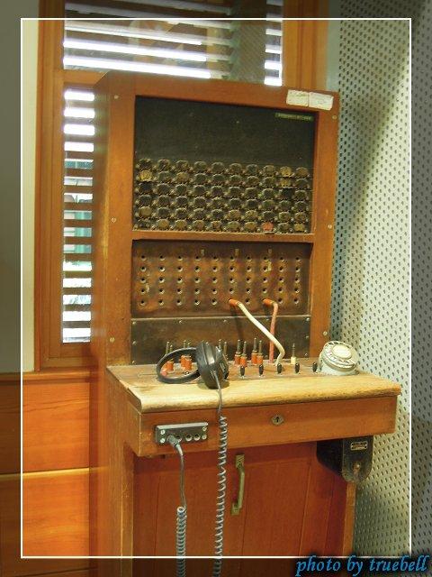 林業博物館內的舊時物品