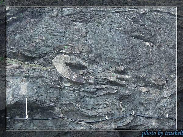 地層變動的痕跡