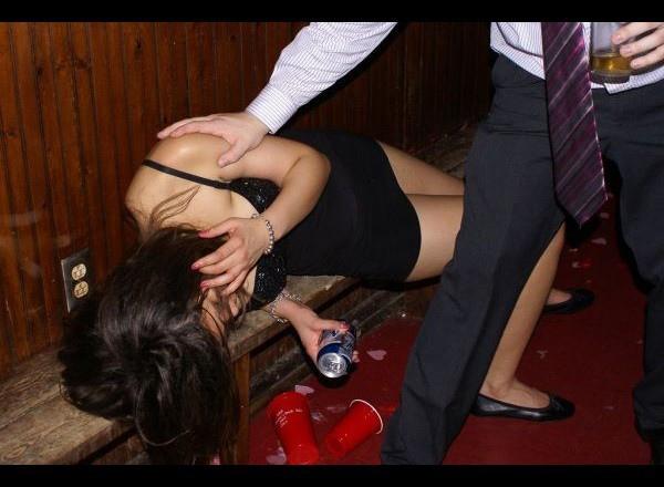 酒店小姐喝醉