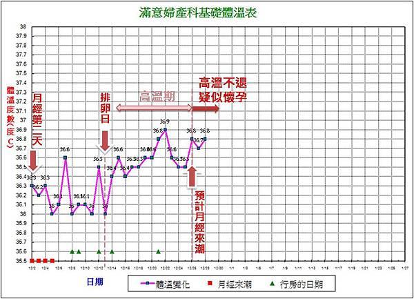 12月基礎體溫