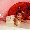 桃子的小時候