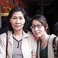 弟弟考研究所前去台南孔廟拜拜