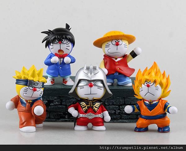 Great-Quality--font-b-Doraemon-b-font-font-b-Cosplay-b-font-Luffy-Wukong-10cm