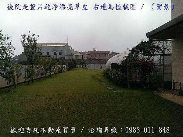 中壢【月眉路一段】農地605坪/房屋103坪農舍