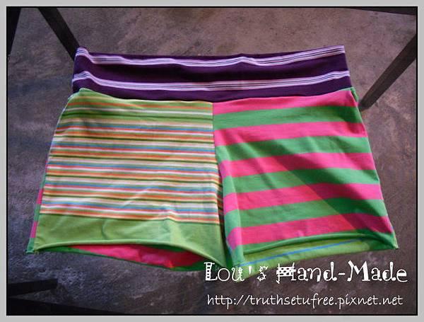 螢光綠孕婦褲6