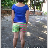 螢光綠孕婦褲2