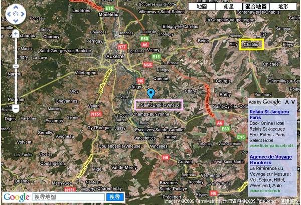 Yonne map