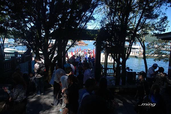 忙碌的玄光寺碼頭