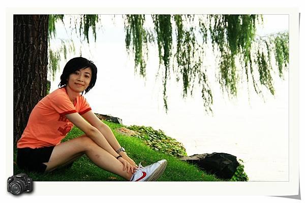 昆明湖的藝術照之二