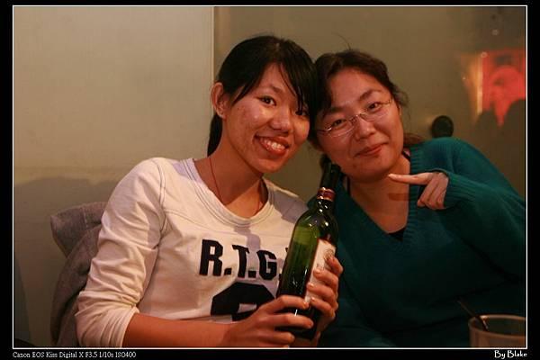 接下來是以紅酒為主題的拍照