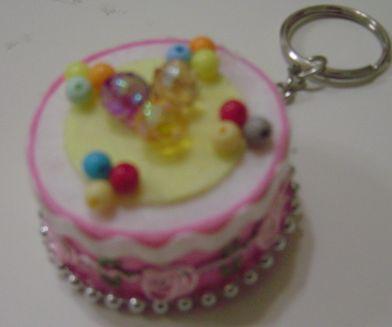 小蛋糕鎖圈