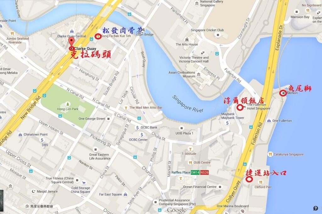 克拉碼頭地圖