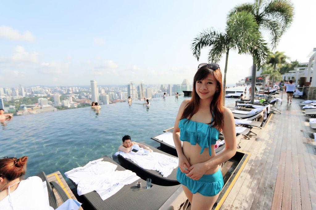 新加坡濱海灣金沙酒店marina bay sands無邊境泳池空中花園01.jpg