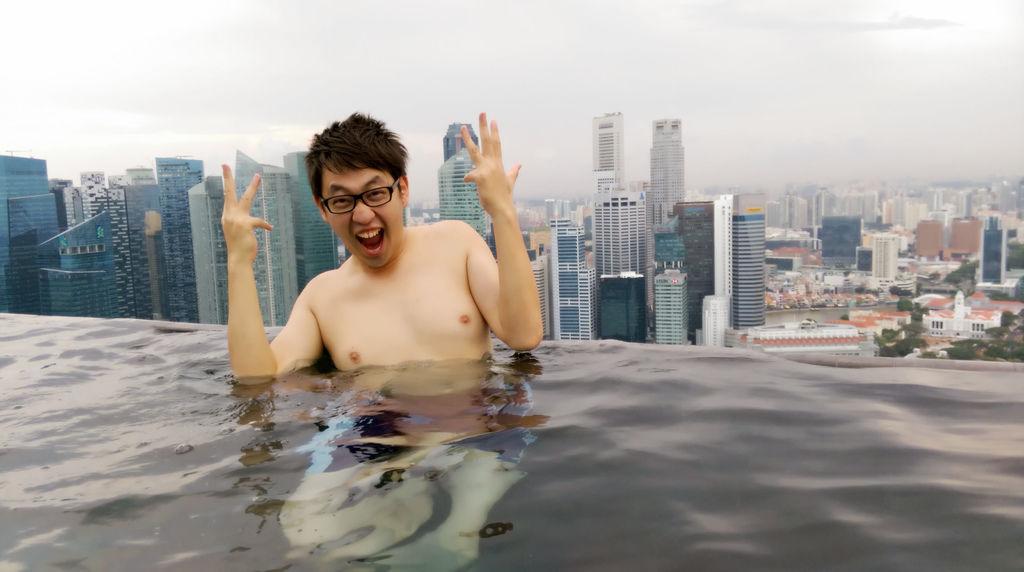新加坡濱海灣金沙酒店marina bay sands無邊境泳池空中花園12.jpg