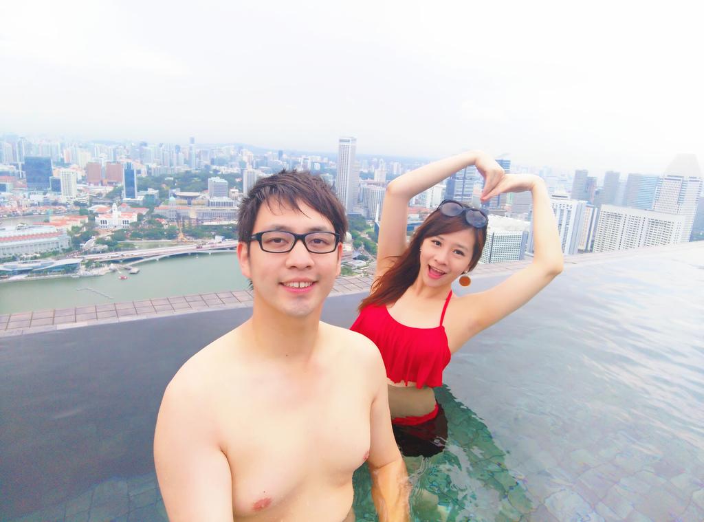 新加坡濱海灣金沙酒店marina bay sands無邊境泳池空中花園13.jpg