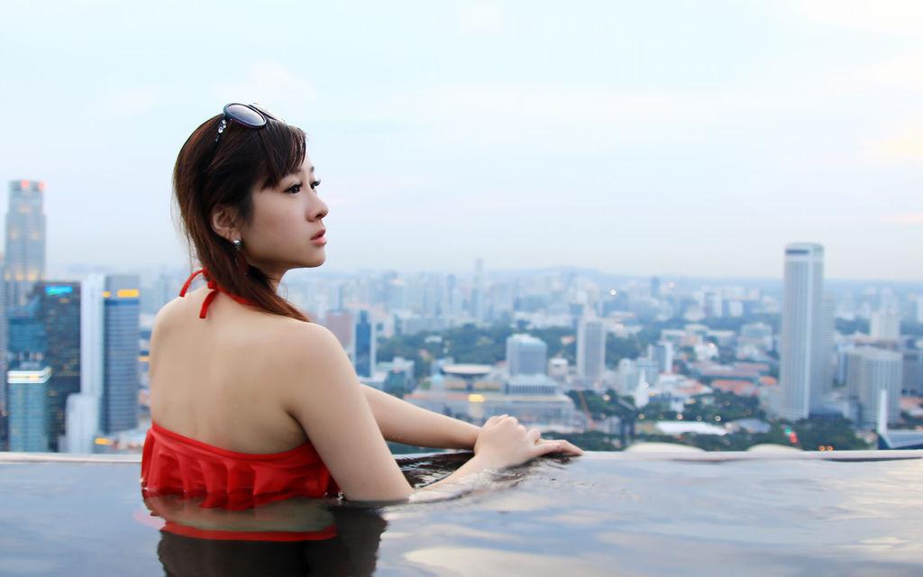 新加坡濱海灣金沙酒店marina bay sands無邊境泳池空中花園25.jpg