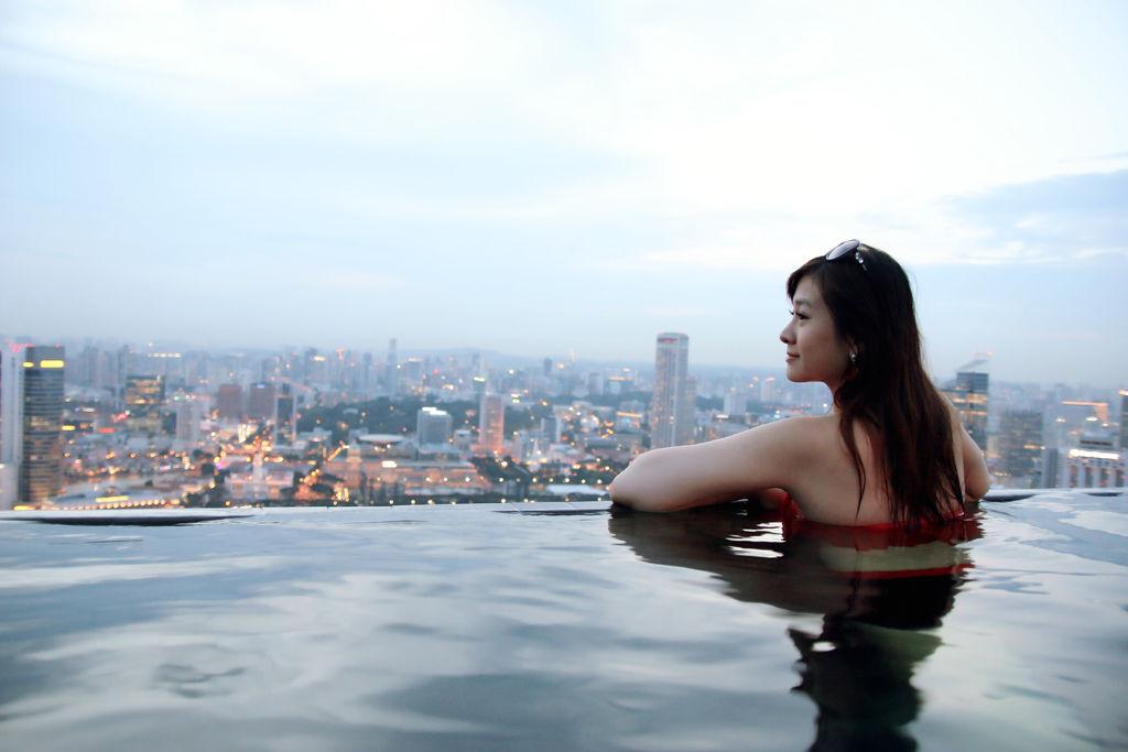 新加坡濱海灣金沙酒店marina bay sands無邊境泳池空中花園27.jpg