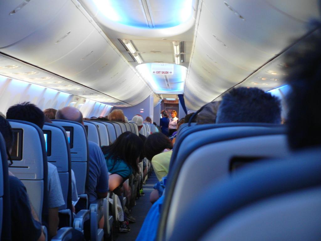 美國UA聯合航空休士頓飛沙加緬度19.jpg