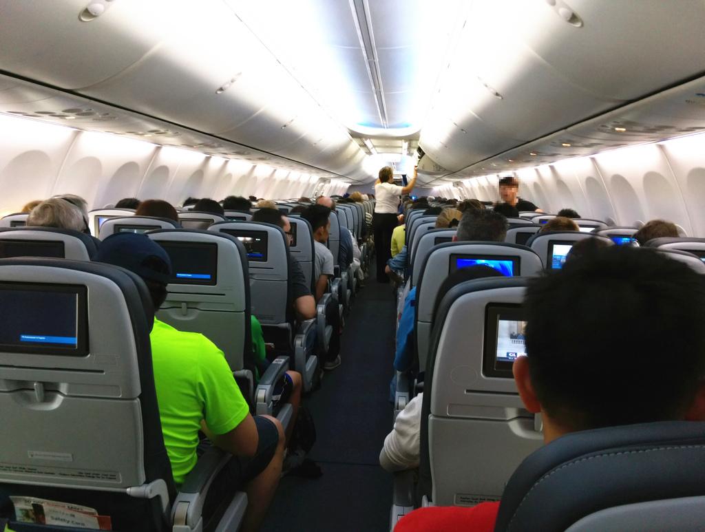 美國UA聯合航空休士頓飛沙加緬度16.jpg