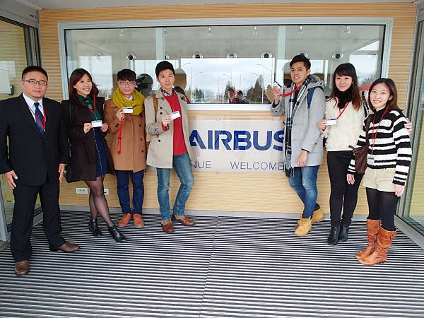 華航a350客機法國吐魯斯空中巴士公司空巴
