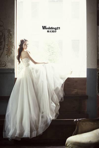 雙胞胎依依佩佩婚紗照韓國5