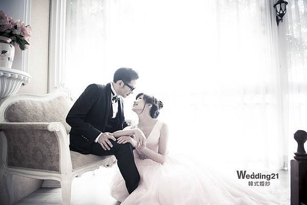 wedding21韓式婚紗 韓風 韓國 自助婚紗 蕾絲 馬甲