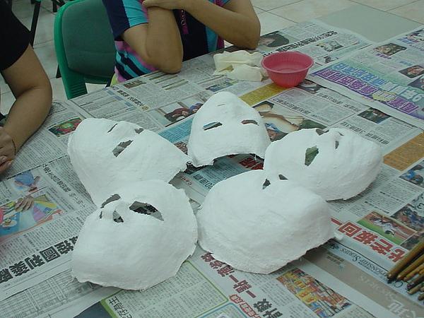 面具的原始面貌