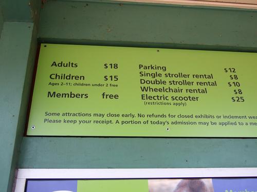 美國第一個動物園,門票好貴!
