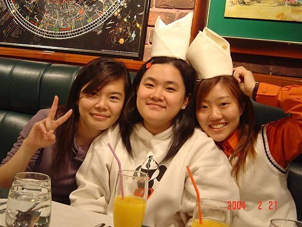 裝可愛三人組