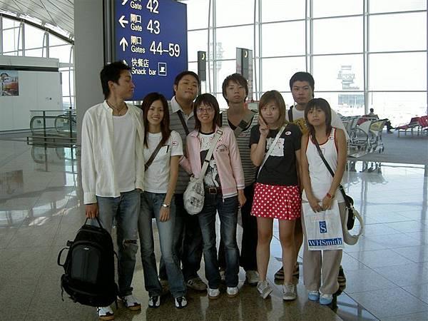 香港機場大合照