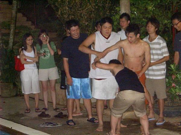 十八人抽鬼牌遊戲之懲罰6