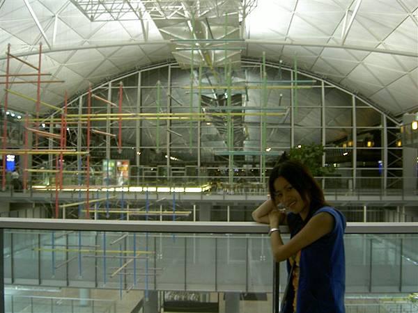 在香港機場
