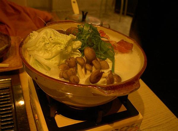 雪花牛肉豆乳しゃぶしゃぶ鍋