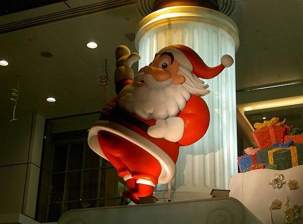 會搖來搖去的聖誕老人