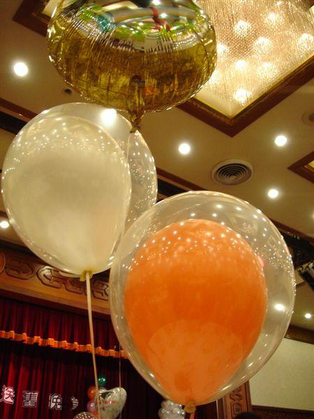 裝飾用氣球耶...