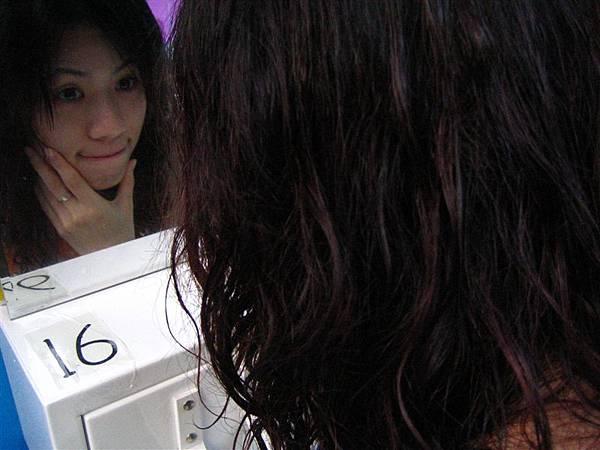 還在照鏡子